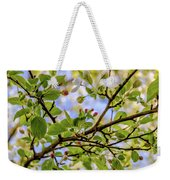 Blossoms And Leaves Weekender Tote Bag