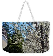 Blossoms And The Bard Weekender Tote Bag