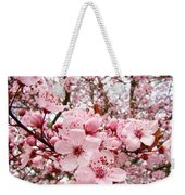 Blossoms Art Spring Pink Tree Blossom Floral Baslee Troutman Weekender Tote Bag