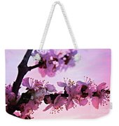 Blossoms At Sunset Weekender Tote Bag