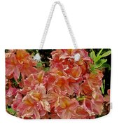 Blossoms In A Summer Shower Weekender Tote Bag