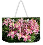 Blossoms Of Chase Lane Weekender Tote Bag