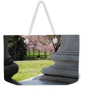 Blossoms Of The Columns Weekender Tote Bag