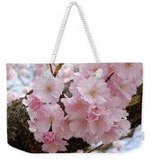 Blossoms On Bark Weekender Tote Bag
