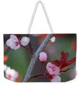 Blossoms Petite Weekender Tote Bag