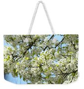Blossoms Whtie Tree Blossoms 29 Nature Art Prints Spring Art Weekender Tote Bag