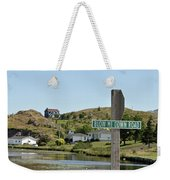Blow Me Down Road Weekender Tote Bag