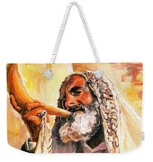 Blow The Trumpet In Zion Weekender Tote Bag
