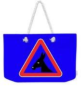 Blowing Bigstock Donkey 171252860 Weekender Tote Bag