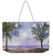 Blowing By The Ocean Weekender Tote Bag