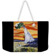 Blown Away From Red Skies Weekender Tote Bag