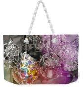 Blown Glass Ornaments Weekender Tote Bag