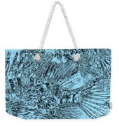Blue Abstract - Lionfish Weekender Tote Bag