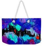 Blue Abstract 55698 Weekender Tote Bag