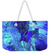 Blue Abstract Art - Reflections - Sharon Cummings Weekender Tote Bag