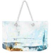 Blue Abstract 12m1 Weekender Tote Bag