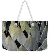 Blue Agave Cactus Weekender Tote Bag