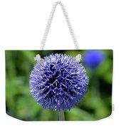 Blue Allium Weekender Tote Bag