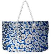 Blue Cells Weekender Tote Bag