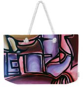 Blue And Blur Weekender Tote Bag