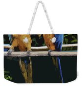Blue And Gold Macaw 1 Weekender Tote Bag