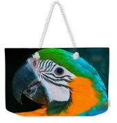 Blue And Gold Macaw Headshot Weekender Tote Bag