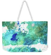 Blue And Green Abstract - Imagine - Sharon Cummings Weekender Tote Bag