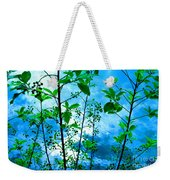 Nature's Gifts Of Blue And Green Weekender Tote Bag