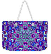 Blue And Pink Wallpaper Fractal 71 Weekender Tote Bag