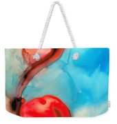 Blue And Red Art - Crimson Dance - Sharon Cummings Weekender Tote Bag