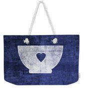 Blue And White Bowl- Art By Linda Woods Weekender Tote Bag