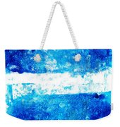 Blue And White Modern Art - Two Pools 2 - Sharon Cummings Weekender Tote Bag