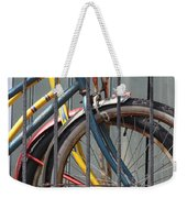 Blue And Yellow Bikes Weekender Tote Bag
