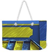 Blue And Yellow Shadows Weekender Tote Bag