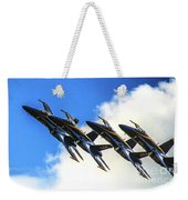 Blue Angel Fly By Weekender Tote Bag