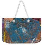 Blue Angel Watches Over Me Weekender Tote Bag by Angela L Walker