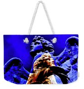 Blue Angel Wings Weekender Tote Bag