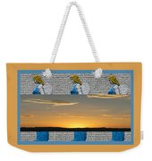 Blue Angels At Sunset Weekender Tote Bag