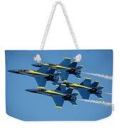 Blue Angels Diamond Formation Weekender Tote Bag