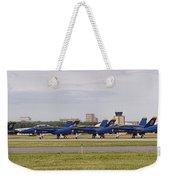 Blue Angels Flight Line Weekender Tote Bag