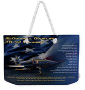 Blue Angels Ta-4j Skyhawk Weekender Tote Bag