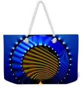 Blue Bale Ringe Weekender Tote Bag