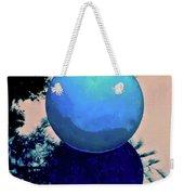Blue Ball 2 Weekender Tote Bag