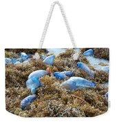 Seeing Blue At The Beach Weekender Tote Bag by Karen Zuk Rosenblatt