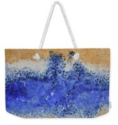 Blue Beach Bubbles Weekender Tote Bag