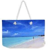 Blue Beach Weekender Tote Bag