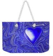 Blue Beats Weekender Tote Bag