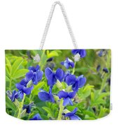 Blue Beauties Weekender Tote Bag