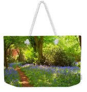 Blue Bells  Flower Weekender Tote Bag