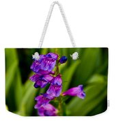 Blue Bells Wild Flower Weekender Tote Bag